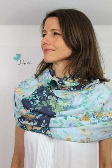 Modell/Foto: Kirsten von Jakoki | Stoff Mia von Swafing