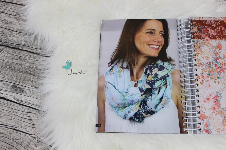 Kirsten von Jakoki im Swafing Katalog Kollektion Frühjahr / Sommer 2018