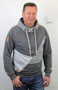 Herrenhoodie Silvio - Modell/Foto JakoKi